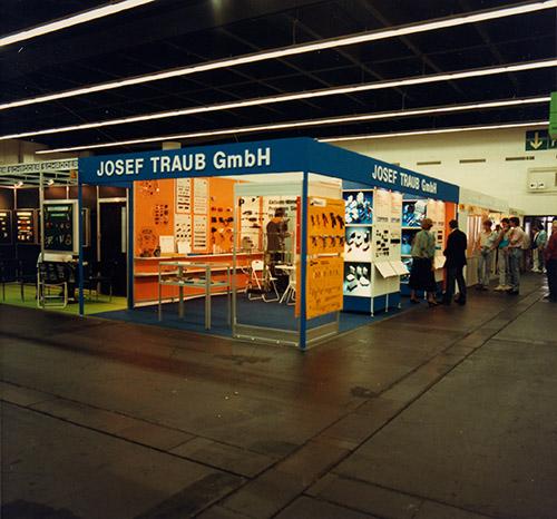 Messestand Josef Traub GmbH 60er-Jahre