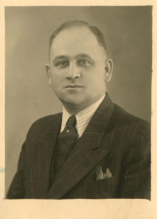 Firmengründer Josef Traub