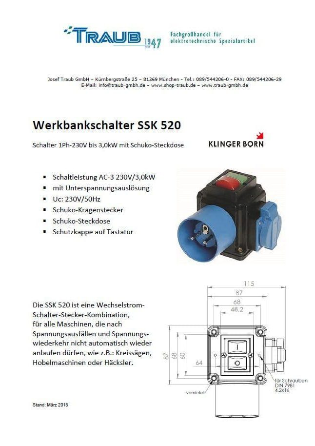 SSK 520 PDF Download