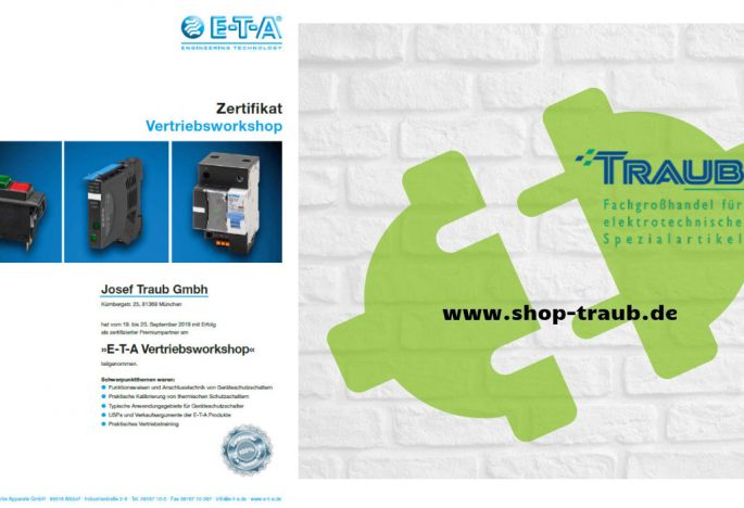 E-T-A Vertriebsworkshop